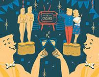 Oscars Party - The Baltimore Sun (USA)