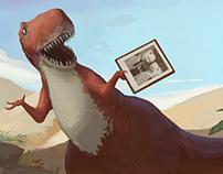 Dinosaurios y Cucarachas