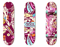 DESIGN / Hessenmob Skateboards