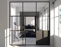 Vienna, Schottenfelggasse apartament
