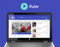 Ruler - Video platform (Material design)