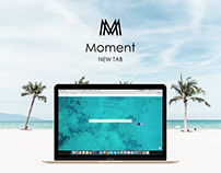 Moment - New Tab for Chrome
