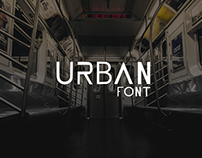 Urban font by webdeclic
