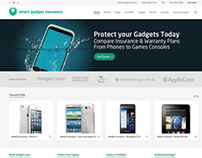 Smart Gadget Insurance - Wordpress Based Insurance Site