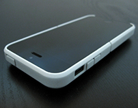 Cariband, 3d printed case for iPhone 5/5s, Holds Stuff