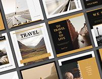 Travel Social Media Templates