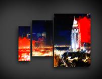 Dubai Painting Collection I, II and III