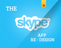 Skype | Mobile Re - Design