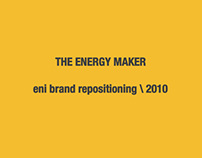 eni Brand Repositioning