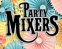 Party Mixers Paper Rosettes