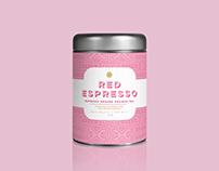 Red Espresso Rooibos Tea Packaging