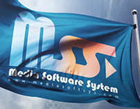 Media Software System Logo Design