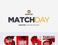 SAGATISE 2019-2020 Matchday Design