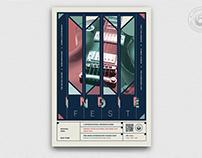 Indie Fest Flyer Template V7