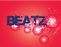 Beatz Energy drink bottle label design