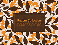 Pattern Design Collection Indian Summer