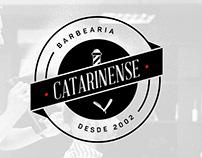 Logotipo - Barbearia Catarinense
