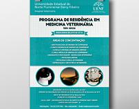 CARTAZ: Hospital Veterinário (UENF)