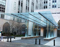 New York Presbyterian Hospital Entrance Canopy
