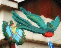 Desfile en algún lugar de Guatemala