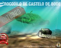 O Crocodilo de Castelo de Bode