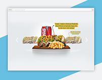 SLIDER FOR FAST FOOD COMPANY