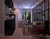 Эскизный проект квартиры