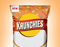 Krunchies Package Design
