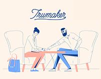 Explainer video for fashion startup Trumaker