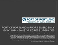 Example of Work for Port of Portland Airport