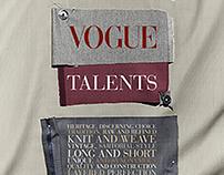Vogue Talents - Editorial Design