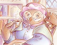 Wise Grandma Owl