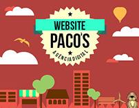 Projeto Web Site - Paco´s Agência Digital