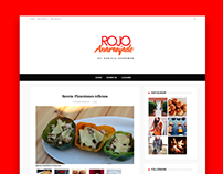 BLOG: Rojoanaranjado Wordpress Design