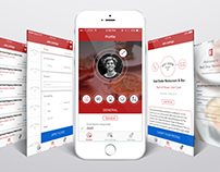 Red Door Network iOS & Web app