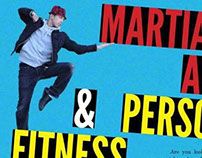 Martial Arts & Personal Fitness Trainer Flyers
