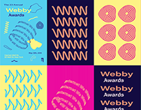 Webby Awards identity