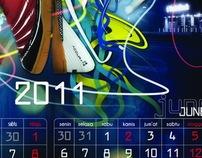 2011 Shoes Calendar