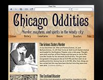 Chicago Oddities Responsive Site