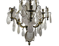 19th Century Russian Rock Crystal Chandelier