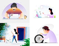 Illustrations design