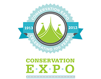Centennial Conservation Expo Branding and Collateral