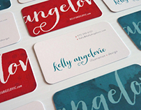 Kelly Angelovic Logo & Business Cards