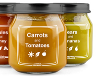 Earth's Best Organic Baby Food - Rebranding
