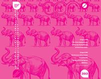 Thirteens Project: 2013 Calendar wallpaper