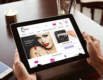 Online shop redesign | moja-kosmetyczka.com