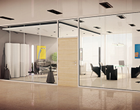 Alufire - interior visualisation