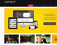 Metrofy WordPress Theme