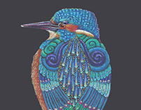 Kingfisher Totem