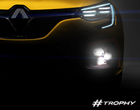 "Incoming Mégane R.S. ""Trophy"""